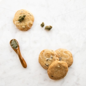 Marijuana edibles cookies