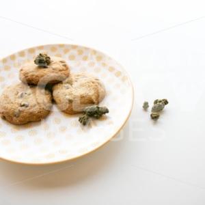 Weed cookies served up